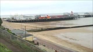 Clacton seafront