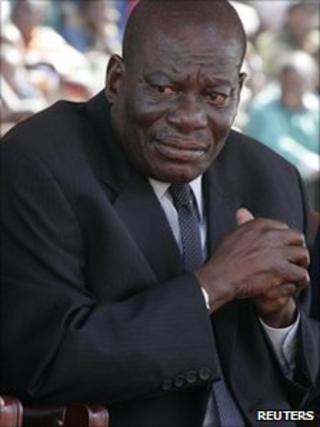 Solomon Mujuru photographed in August 2009