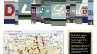 De-Loot London website