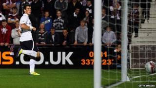 Tottenham player Gareth Bale