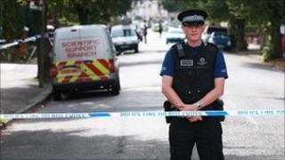 Scene of the incident in Bognor Regis