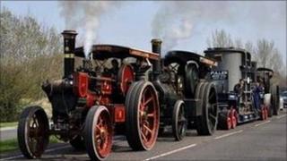 Steam Road Locomotives