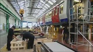 Bombardier factory