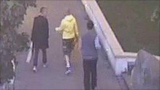 cctv image of suspect (r)