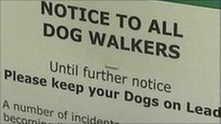 Notice to dog owners