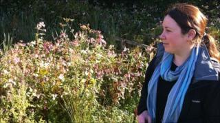 Becky Davies at Nant Celyn just outside Llantwit Fardre in Rhondda Cynon Taf