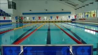 Swimming pool at Arc Leisure Matlock