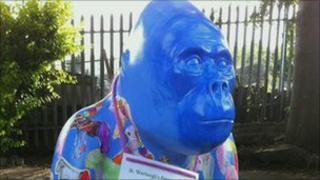 Stolen gorilla Werbert