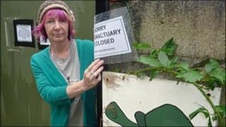 Sanctuary owner Joy Bloor