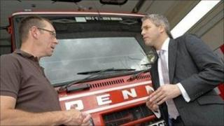 Mark Milner and Stephen Barclay