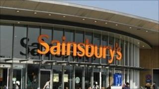 Sainsbury's store front