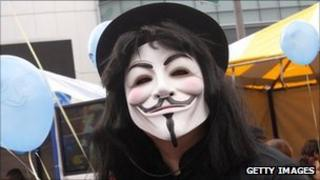V for Vendetta Anonymous mask