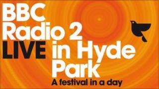 BBC Radio 2 Live in Hyde Park logo