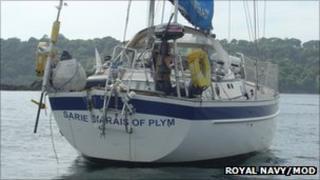Sarie Marais: Pic Royal Navy/MoD