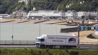 Dodd's Transport lorry (from Dodd's Transport)