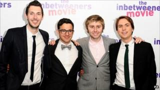 Cast members of Inbetweeners
