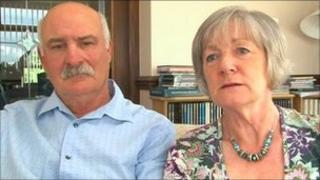 Delia van der Lenden lay magistrate and husband