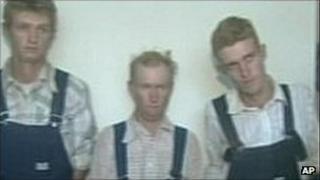 Some of the men in custody in 2009