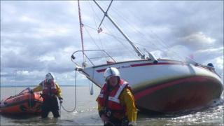 The tide is rising as recovery work continues on the grounded August Moon
