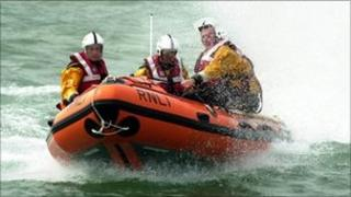 Lifeboat rescue. Photo: RNLI