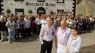 The Butchers Arms. Photo by Stuart Walker Photography 2011