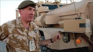 British Army head Richard Dannatt in Afghanistan, 2007. (PA)
