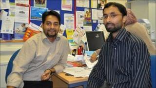 Boshor Ali and Mojlum Khan