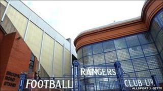 Rangers Footballl Club grounds