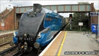 The Gresley A4 Dominion of New Zealand