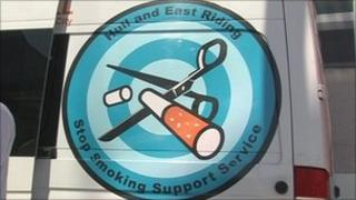 Anti smoking logo