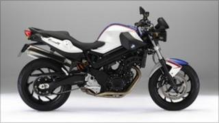 BMW F800R motorbike