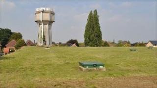 Elsmere Road reservoir, Ipswich