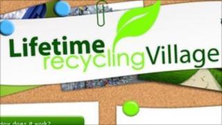 Lifetime Recycling Village logo