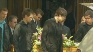 Emily Longley's funeral in Auckland