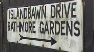 Rathmore Gardens sign