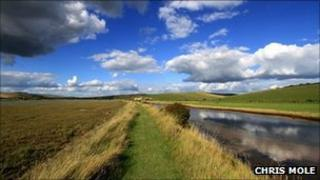 Chris Mole's picture of Cuckmere Valley