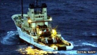 MCA tug. Pic: Royal Navy