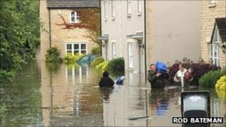 Witney floods