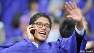 New York university graduate ceremony