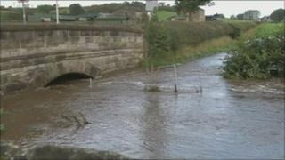 Flooding in Lancashire