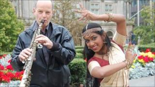 Jonathan Middle and Krupali Parmar - archive image