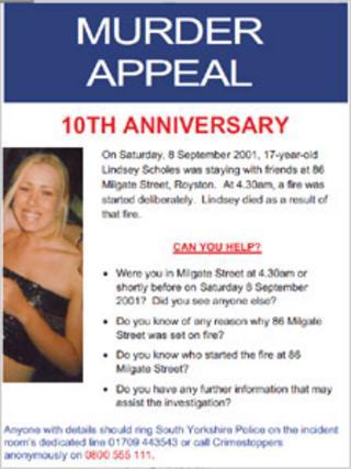 Flyer appealing for information