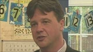 Headteacher John Draper