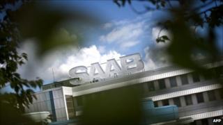 Saab factory
