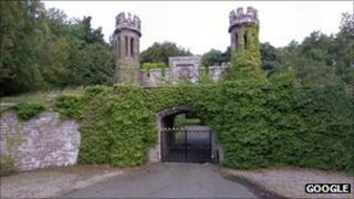 Guthrie Castle. Pic copyright Google
