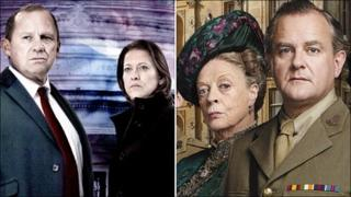 Peter Firth, Nicola Walker, Dame MAggie Smith and Hugh Bourneville