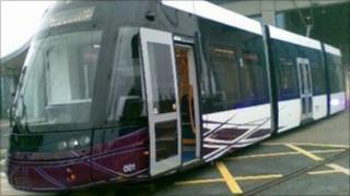 Blackpool's new Bombardier tram