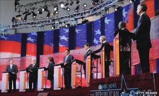 TV debate between presidential candidates
