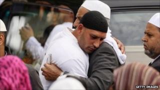Birmingham Muslims mourn the death of three men in Winson Green
