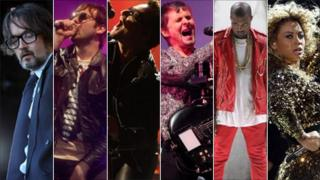 Pulp, Kasabian, U2, Muse, Kanye West and Beyonce played headline sets at UK Festivals this year
